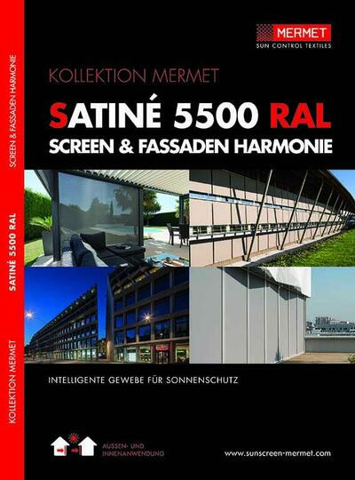 EXTERNAL SCREEN CLASSIC / SATINE 5500 RAL