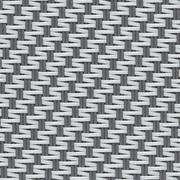 Gewebe Abdunklung BLACKOUT 100% Satiné 21154 0102 Grau Weiß
