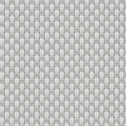 Gewebe Transparenten EXTERNAL SCREEN CLASSIC Natté 4503 0207 Weiß Perlen