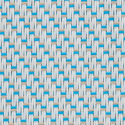 Gewebe Transparenten EXTERNAL SCREEN CLASSIC Satiné 5500 M02 020310 Weiß Türkis Sand